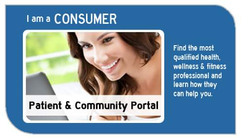 medical fitness network patient and community portal