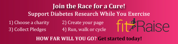 Raise money for Diabetes research with fitRaise
