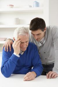 son consoling sr parent