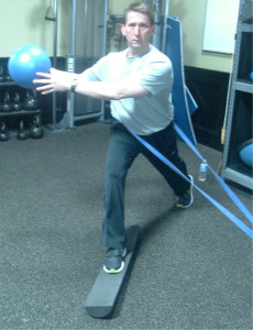 Figure 9. Dynamic stabilization Training