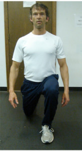 Figure 7. In place lunge