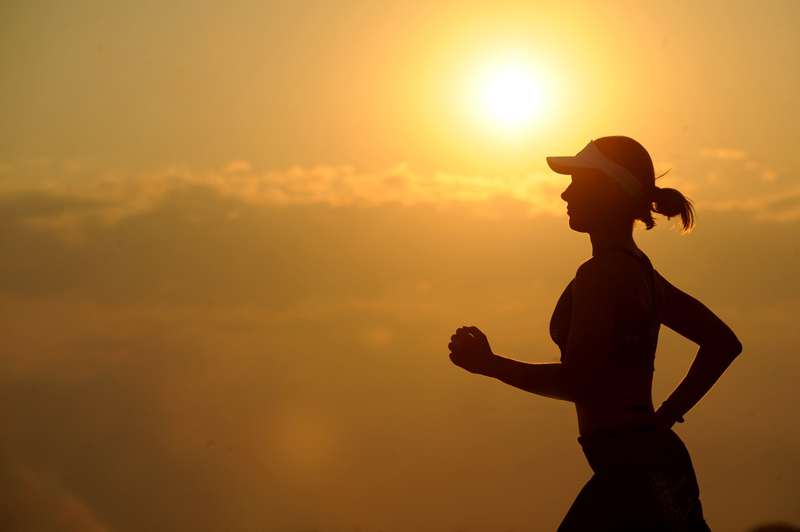 running-sunrise