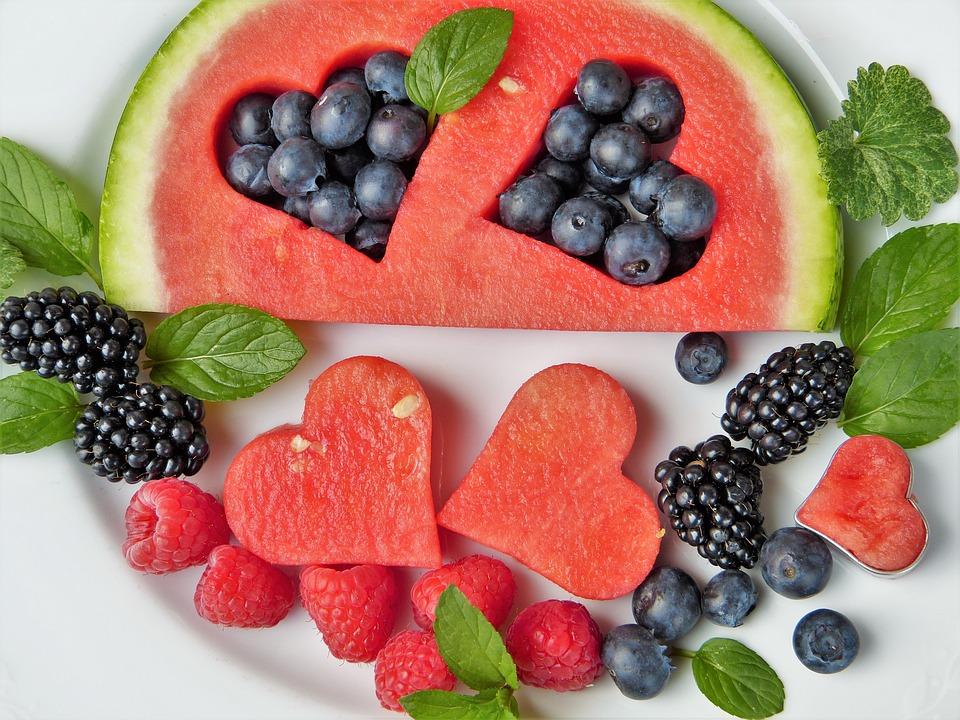 watermelon berries
