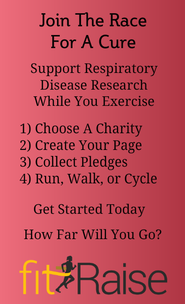 Raise money for Respiratory Disease research with fitRaise