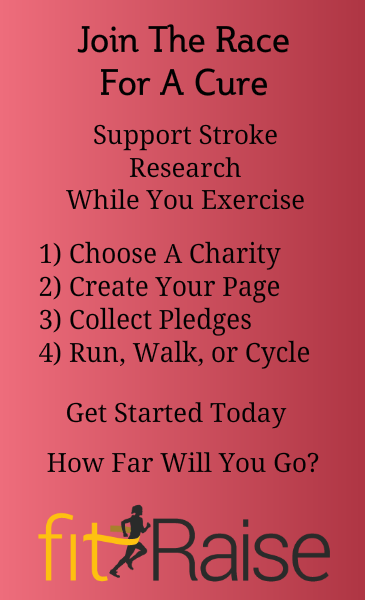 Raise money for Stroke research with fitRaise