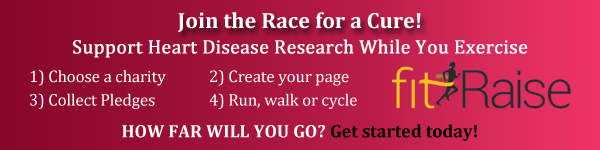 Raise money for Heart Disease research with fitRaise