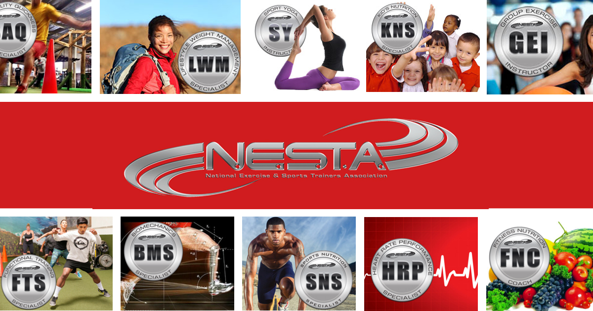 National Exercise Sports Trainer Association Nesta Medfit Network