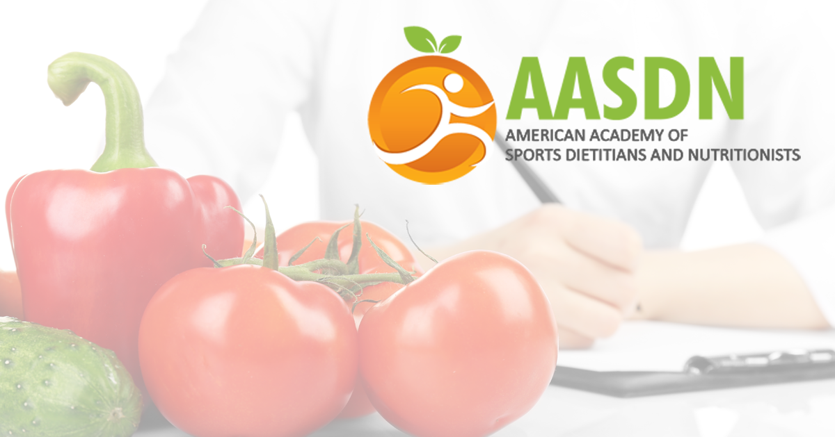 American Academy Of Sports Dietitians And Nutritionists Aasdn